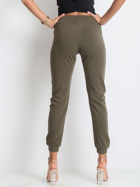 Khaki spodnie Carter                              zdj.                              2