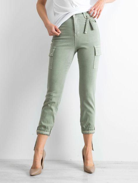 Khaki spodnie Vintage                              zdj.                              1