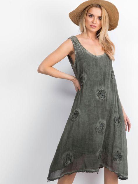 Khaki sukienka Raymana