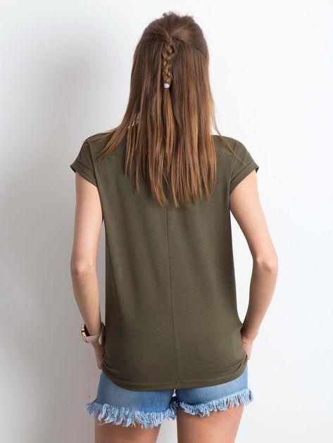 Khaki t-shirt Vibes                              zdj.                              2