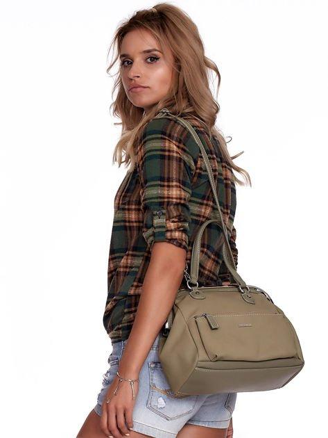 Khaki torba damska vintage                              zdj.                              1