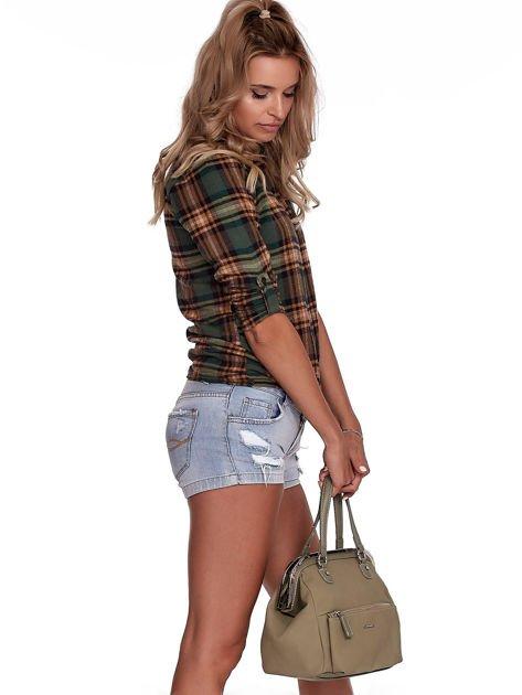 Khaki torba damska vintage                              zdj.                              9