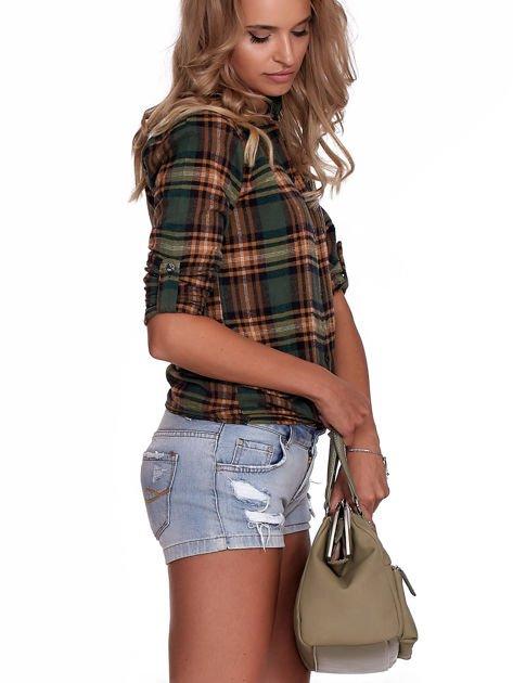 Khaki torba damska vintage                              zdj.                              10
