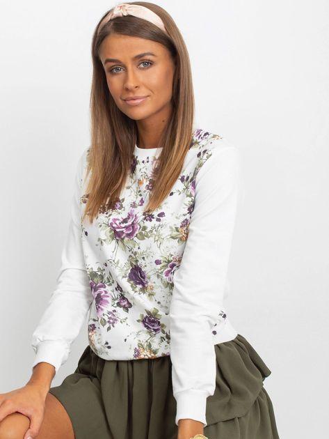 Klasyczna bluza w kwiatowy print                              zdj.                              2