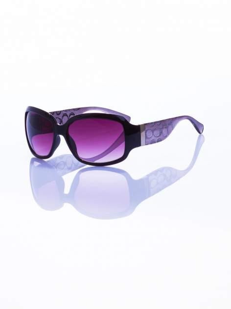 """Klasyczne damskie okulary """"muchy"""""""