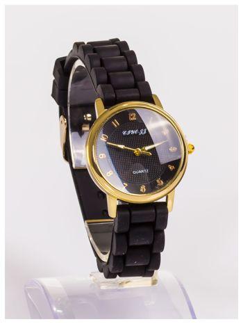 Klasyczny damski zegarek na wygodnym silikonowym pasku                                   zdj.                                  3