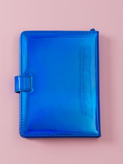 Kobaltowy lustrzany notes                              zdj.                              5