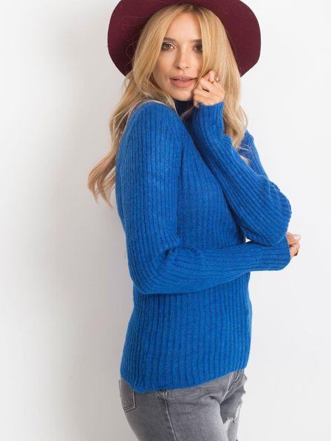 Kobaltowy sweter Milo                              zdj.                              3