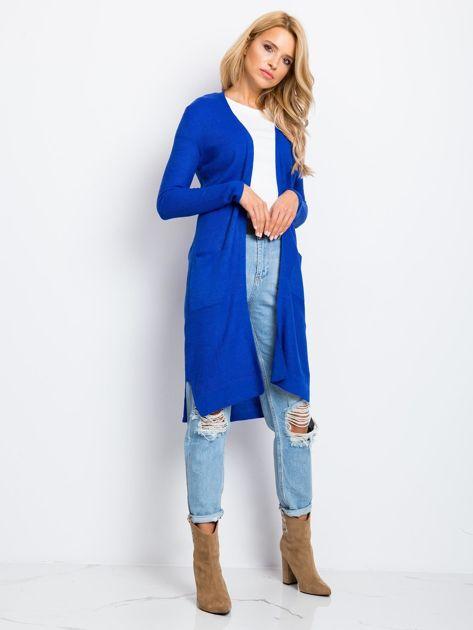 Kobaltowy sweter Touch                              zdj.                              3