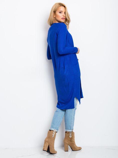 Kobaltowy sweter Touch                              zdj.                              2