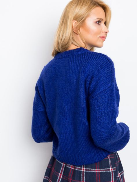 Kobaltowy sweter Victoria                              zdj.                              2