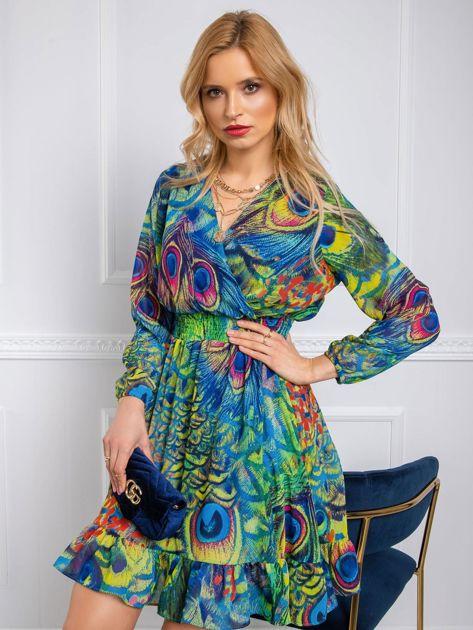 Kolorowa sukienka Kimberly RUE PARIS