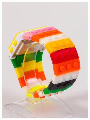 Kolorowy i modny elektroniczny zegarek unisex                                  zdj.                                  3