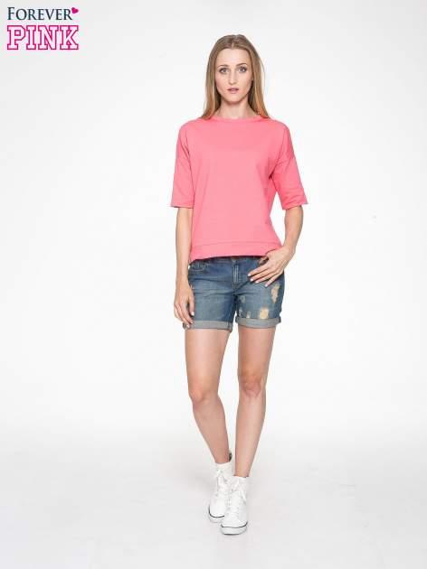 Koralowa bluza z suwakiem z tyłu                                  zdj.                                  6