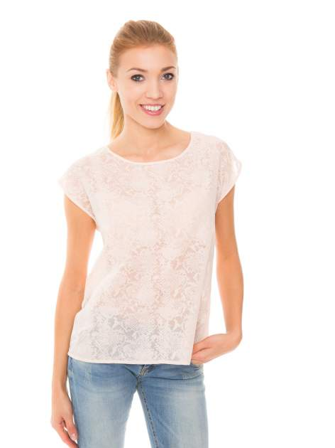 Koralowa transparentna koszula                                  zdj.                                  1