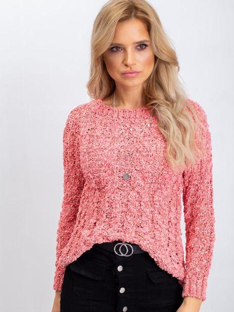 Koralowy sweter Jessica                              zdj.                              5