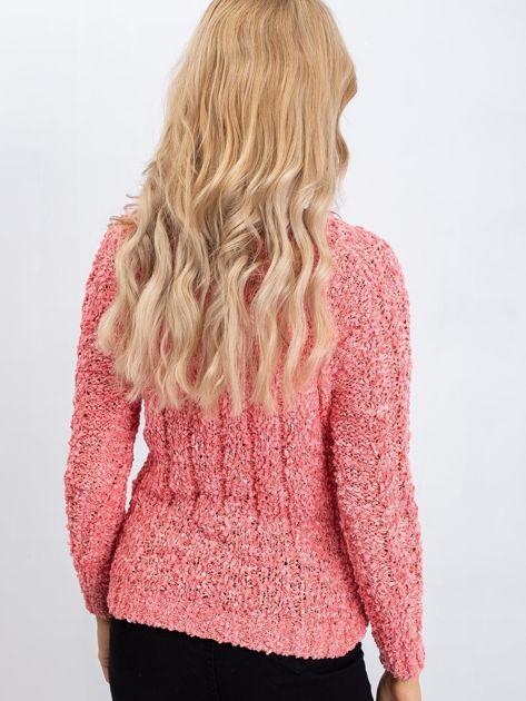 Koralowy sweter Jessica                              zdj.                              2
