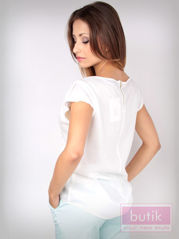 Koszula z suwakiem na plecach                                  zdj.                                  2