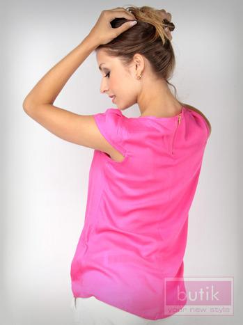 Koszula z suwakiem na plecach                                  zdj.                                  5