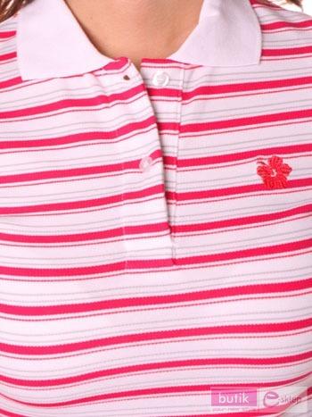 Koszulka polo w paski                                  zdj.                                  2