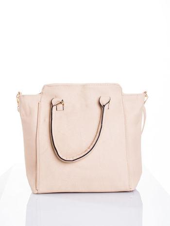 Kremowa torba shopper bag                                  zdj.                                  1