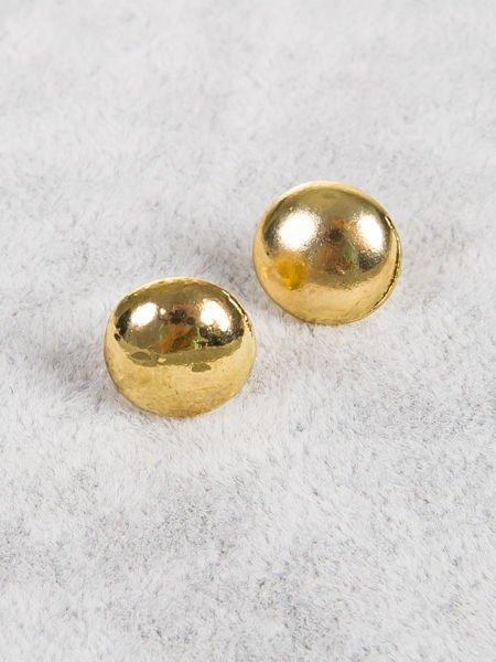 LOLITA Kolczyki damskie złote dropsy 1 cm                                  zdj.                                  1