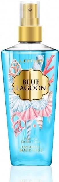 LOTUS Perfumowana Mgiełka do ciała BODY MIST BLUE LAGOON Freesia & Delicate Daisy 210 ml                              zdj.                              1