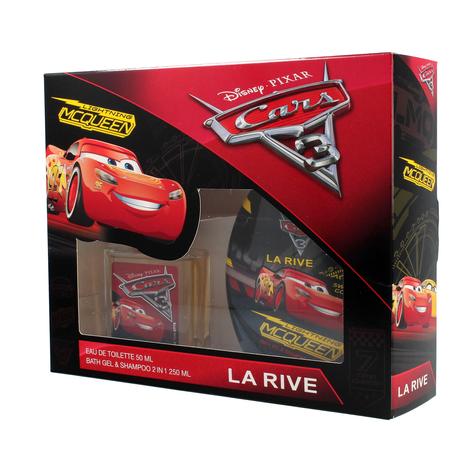 """La Rive Disney Cars Zestaw (woda toaletowa 50ml+żel pod prysznic 2w1 250ml)"""""""