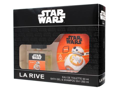 """La Rive Disney Star Wars Droid Zestaw /woda toaletowa 50ml+żel pod prysznic 2w1 250ml/"""""""