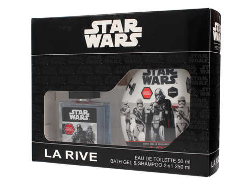 "La Rive Disney Star Wars First Order Zestaw /woda toaletowa 50ml+żel 2w1 250ml/"""