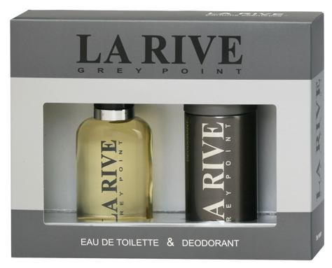 """La Rive La Rive for Men Grey Point Zestaw/edt100ml+deo150ml/"""""""
