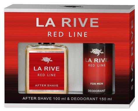"""La Rive La Rive for Men Red Line Zestaw/woda p/g100ml+deo150ml/"""""""