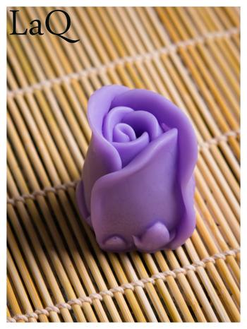 LaQ Mydełko Kwiat róży - fioletowy / Zapach - lawenda BEZ SLS i SLES                                  zdj.                                  5