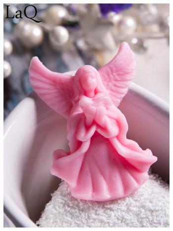 LaQ Mydełko Mały aniołek - różowy / Zapach - truskawka BEZ SLS i SLES                                  zdj.                                  7