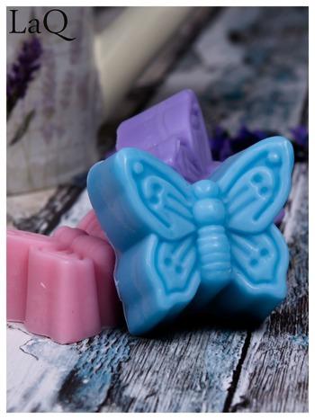 LaQ Mydełko Motylek - niebieski / Zapach - wata cukrowa BEZ SLS i SLES