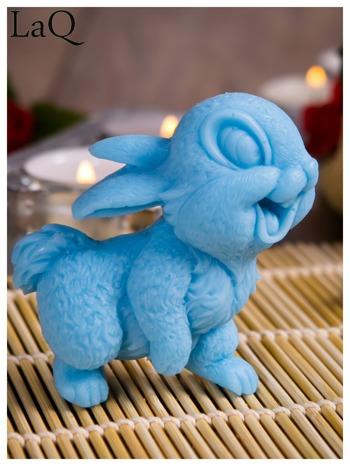 LaQ Mydełko Uśmiechnięty królik - niebieski / Zapach - wata cukrowa BEZ SLS i SLES                                  zdj.                                  6