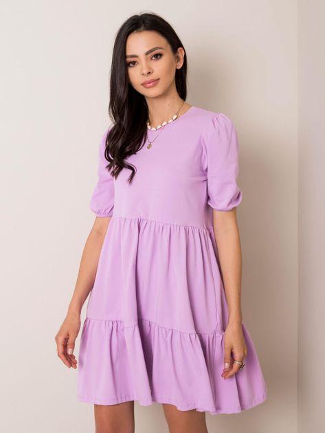 Liliowa sukienka Perla RUE PARIS
