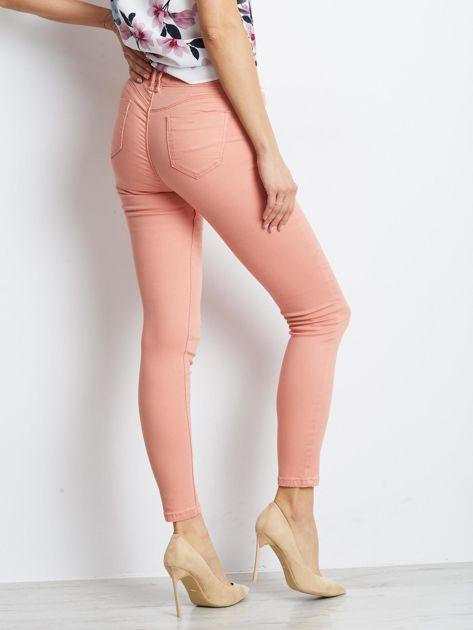 Łososiowe spodnie Meaning                              zdj.                              2