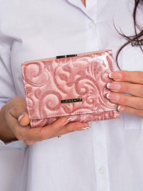 Łososiowy wzorzysty portfel