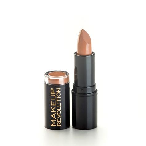 "Makeup Revolution Amazing Lipstick Pomadka do ust Nude  3.8g"""