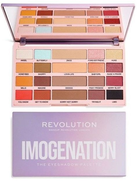 Makeup Revolution Paleta cieni do powiek Imogenation The Eyeshadow Palette 20,8 g