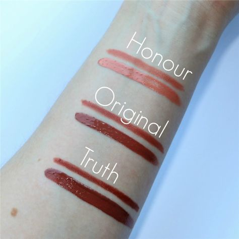 Makeup Revolution Retro Luxe Gloss Lip Kit Zestaw do ust konturówka 1g + pomadka w płynie 5,5ml Truth                              zdj.                              2