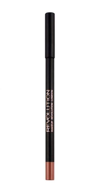 Makeup Revolution Retro Luxe Metallic Lip Kit Zestaw do ust konturówka 1g + pomadka w płynie 5,5ml Empire                               zdj.                              3