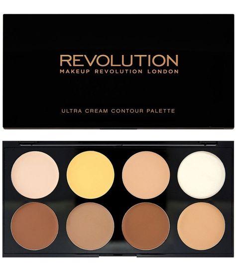 Makeup Revolution Ultra Cream Contour Palette Paleta do konturowania na mokro 13 g