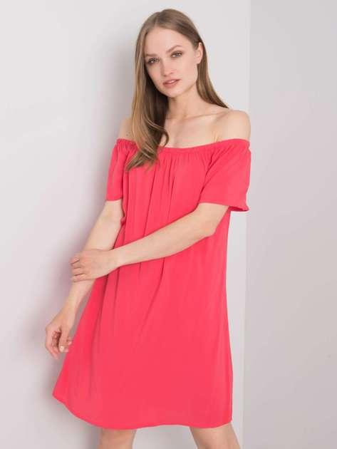 Malinowa sukienka hiszpanka Benita FRESH MADE