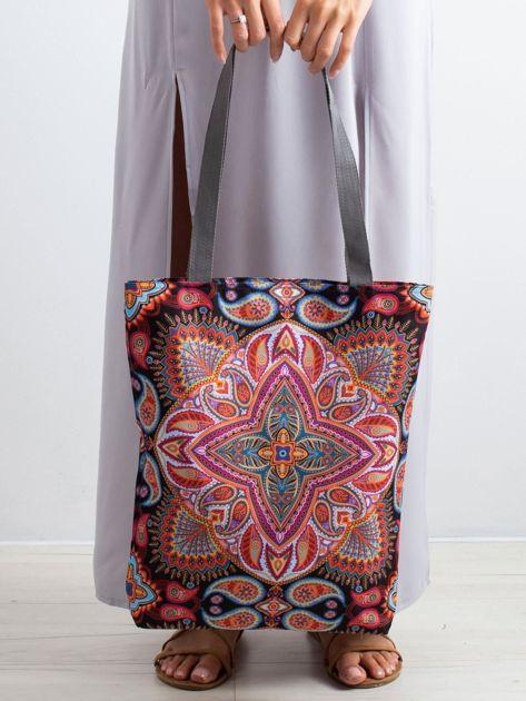 Materiałowa torba w orientalne wzory                              zdj.                              3
