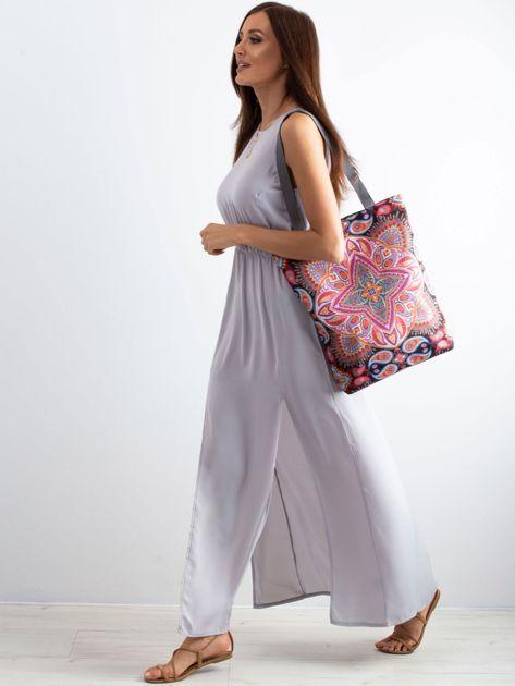 Materiałowa torba w orientalne wzory                              zdj.                              4