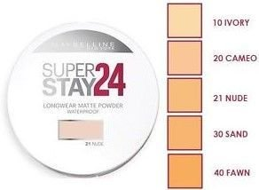 Maybelline Super Stay 24 Longwear Matte Powder Waterproof puder matujący 30 Sand 9g                              zdj.                              2