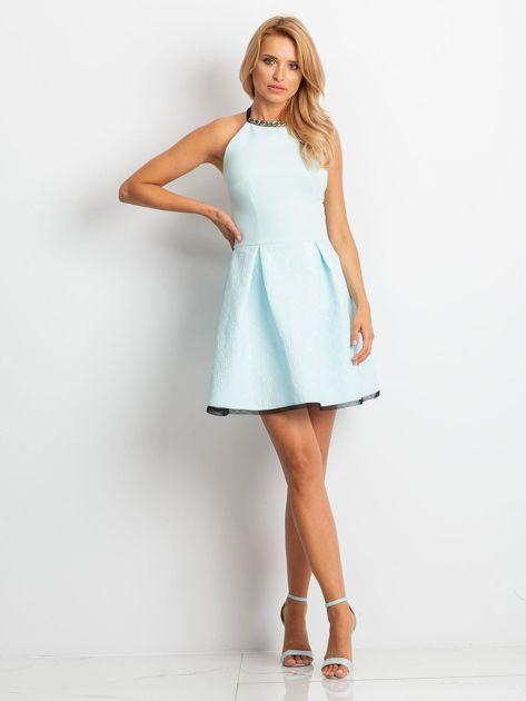 Miętowa sukienka Kim                              zdj.                              4