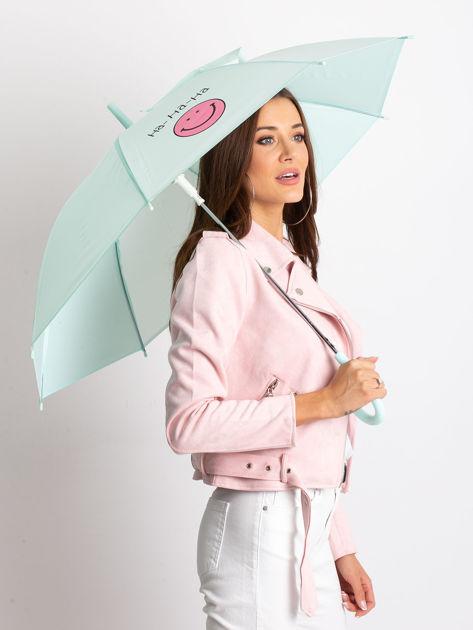 Miętowy parasol półautomatyczny                              zdj.                              1